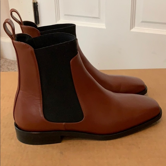 Everlane Square Toe Chelsea Boot
